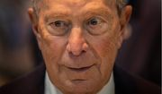 Presidential candidate Michael Bloomberg entered the race about two weeks ago. He's purchased $100 million in campaign ads. (Associated Press)