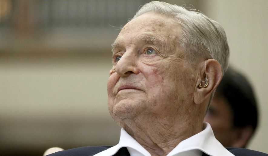 GEORGE SOROS: ZUCKERBERG IS ON TRUMP'S SIDE AND MUST BE REMOVED