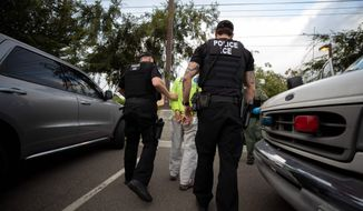U.S. Immigration and Customs Enforcement's deportations to Mexico fell from 55% of the total to 48%, as ICE made fewer arrests in the interior of the country. (Associated Press)
