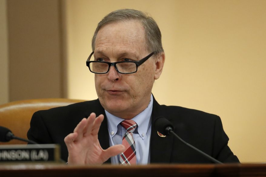 Rep. Andy Biggs, R-Ariz., speaks during a House Judiciary Committee meeting. (AP Photo/Alex Brandon)