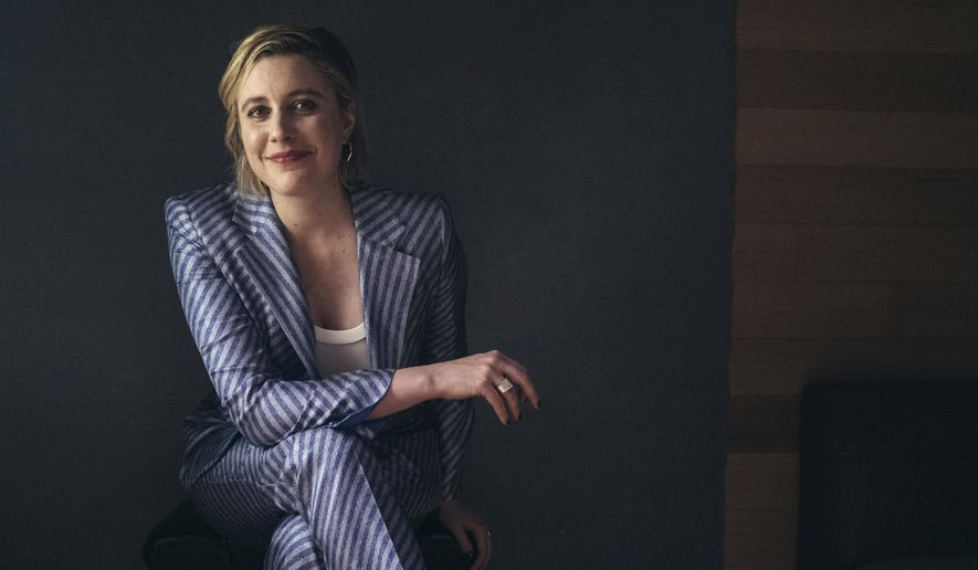 "In this Tuesday, Dec. 10, 2019, photo, actor and director, Greta Gerwig, poses for a portrait in New York. Gerwig's film, ""Little Women,"" releases in the U.S. on Dec. 25. (Photo by Victoria Will /Invision/AP)"
