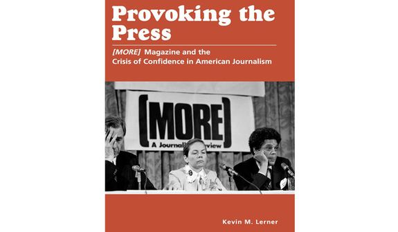 'Provoking the Press' (book cover)