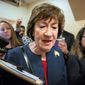 Sen. Susan Collins is facing pressure to join the impeachment push, including from activists. Rivals say Ms. Collins is too partisan.