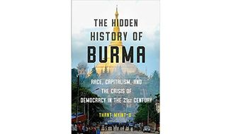 'The Hidden History of Burma' (book cover)