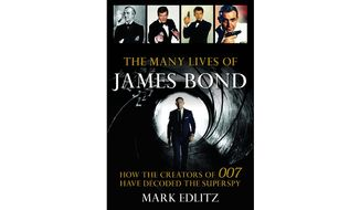 'The Many Lives of James Bond' (book cover)