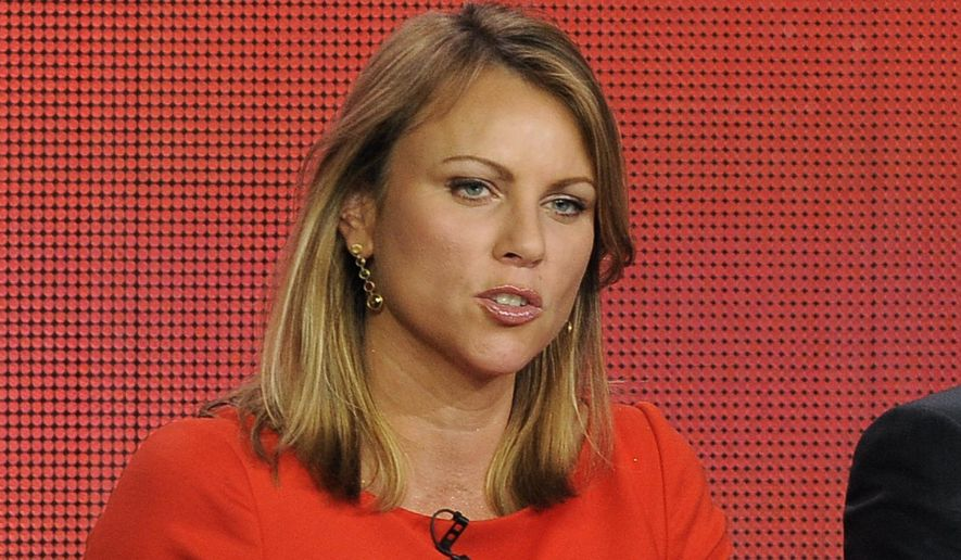 "In this Jan. 12, 2013 file photo, ""60 Minutes"" reporter Lara Logan takes part in a panel discussion at the Showtime Winter TCA Tour in Pasadena, Calif. Logan, whose 2013 report about the Benghazi attacks was retracted by CBS News over inaccuracies, is suing New York magazine over an article about the fallout that she claims tarnished her career. She is seeking $25 million in the lawsuit filed last week. (Photo by Chris Pizzello/Invision/AP, File)"