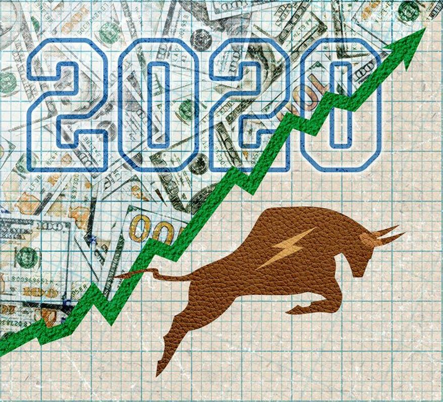 Market Outlook for 2020 Illustration by Greg Groesch/The Washington Times