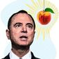 The All-Consuming Quest of Adam Schiff  Illustration by Greg Groesch/The Washington Times