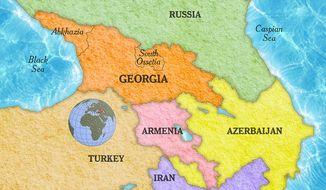 Georgia Map by Greg Groesch/The Washington Times