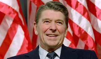 "President Ronald Reagan said in a 1981 speech that we experience Christmas ""in our hearts"" and ""Christmas is a state of mind."" (Associated Press)"