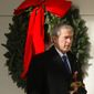 "President George W. Bush would depart the White House before Christmas every year and stay at Camp David, ""so all of us could be with our families on Christmas."" (Associated Press)"
