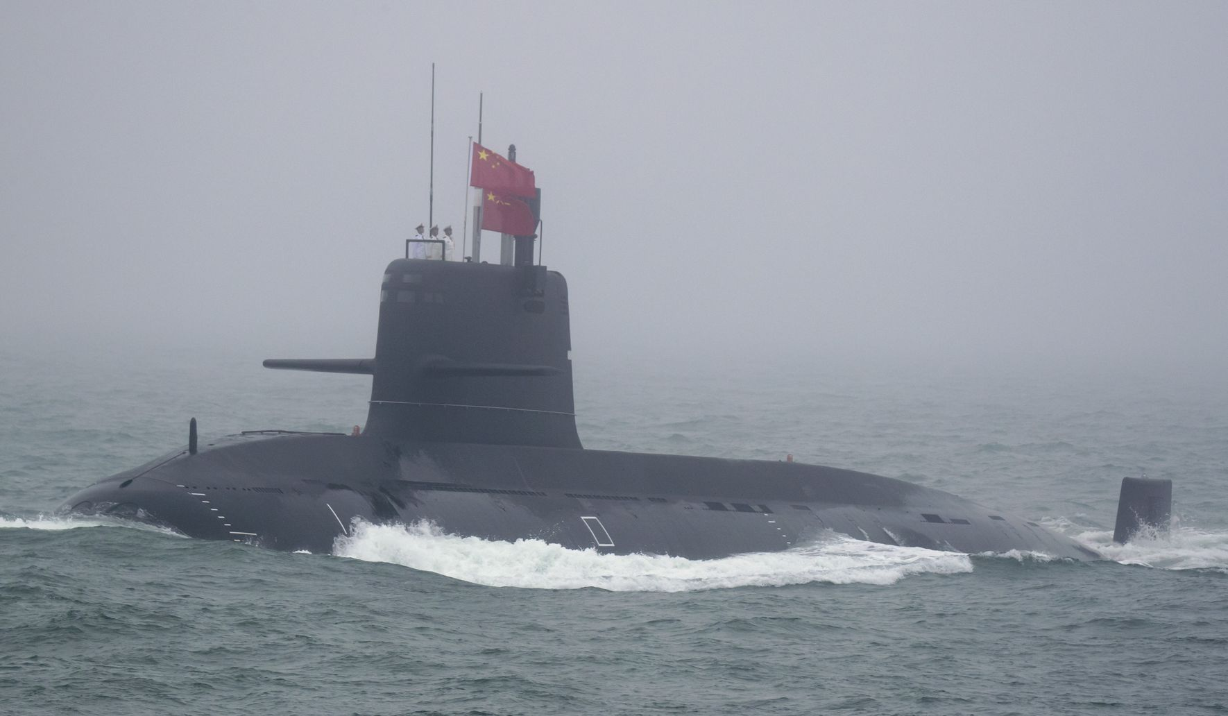 'Chilling': China's test of submarine-launched missile presents a threat to world peace