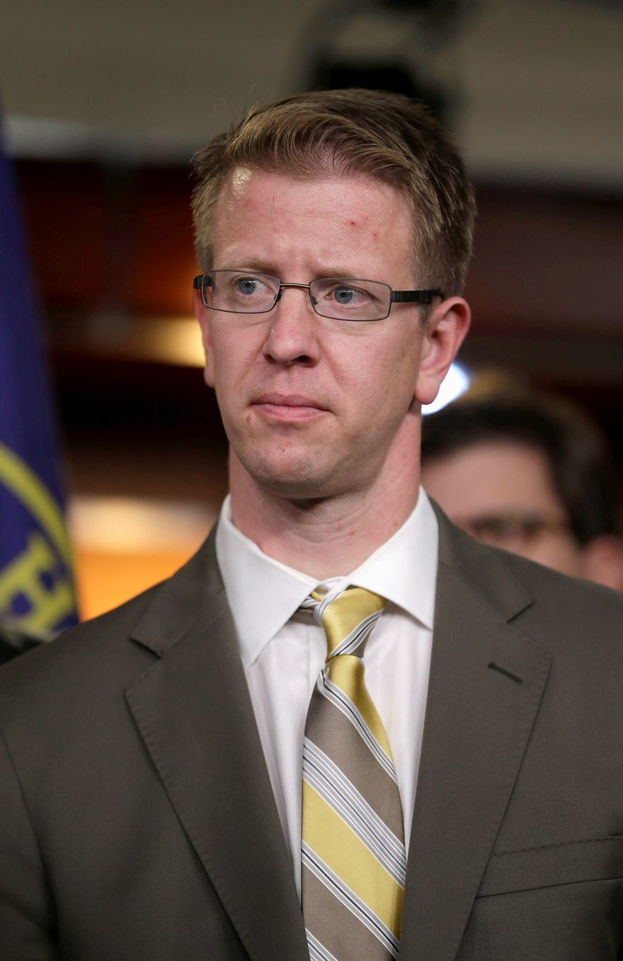 Rep. Derek Kilmer is the chairman of the Modernization Committee. One of the recommendations the committee passed recently aims to make it easier to track changes to laws. (Associated Press)