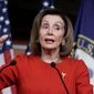 House Speaker Nancy Pelosi has a weak hand in withholding the two articles of impeachment from the Senate. (Associated Press)