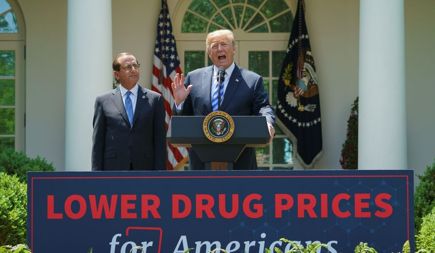 President Trump has helped clear a backlog of generic drug applications and shown a willingness to use the bully pulpit to make drugmakers think twice about price hikes. (Associated Press)