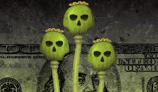 Afghan Capitalism Illustration by Greg Groesch/The Washington Times