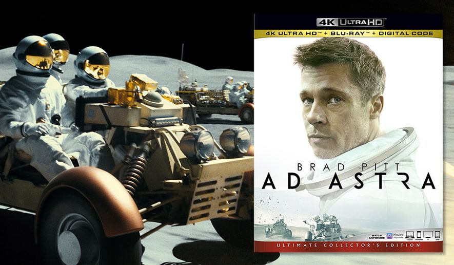 """A vehicular battle on the moon highlights """"Ad Astra,"""" now available on 4K Ultra HD from 20th Century Fox Home Entertainment."""