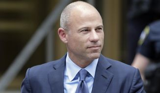 In this May 28, 2019, file photo, attorney Michael Avenatti leaves a courthouse in New York. (AP Photo/Seth Wenig) **FILE**