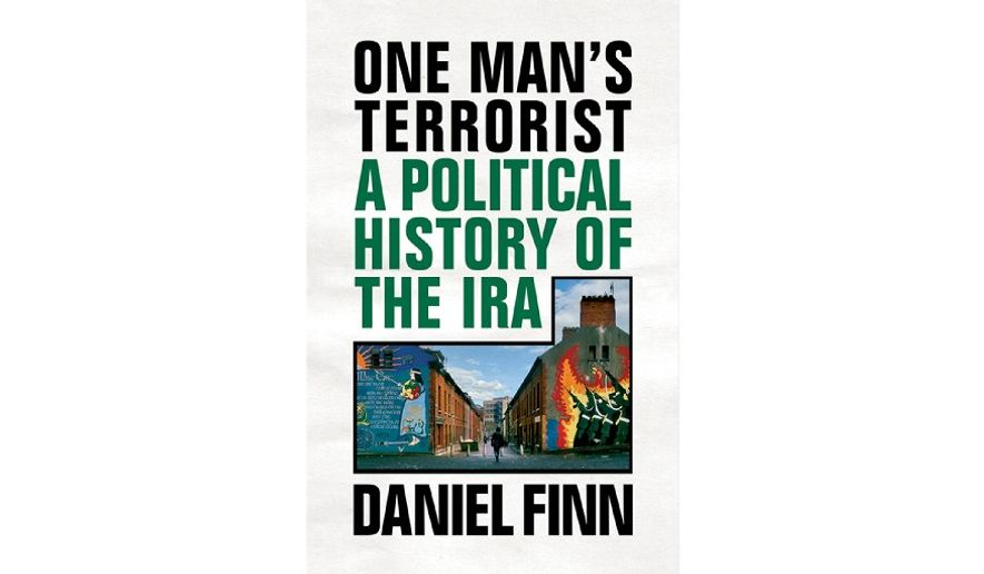 'One Man's Terrorist: A Political History of the IRA' (book cover)