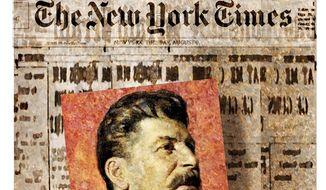 Illustration on Russia/Ukraine news history by Alexander Hunter/The Washington Times