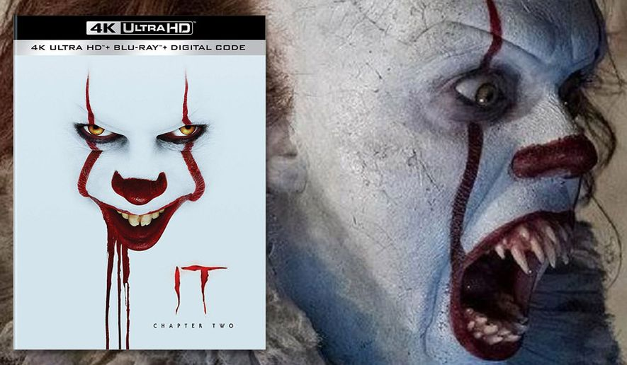 """A very scary Pennywise returns in """"It Chapter Two,"""" now available on 4K Ultra HD from Warner Bros. Home Entertainment."""