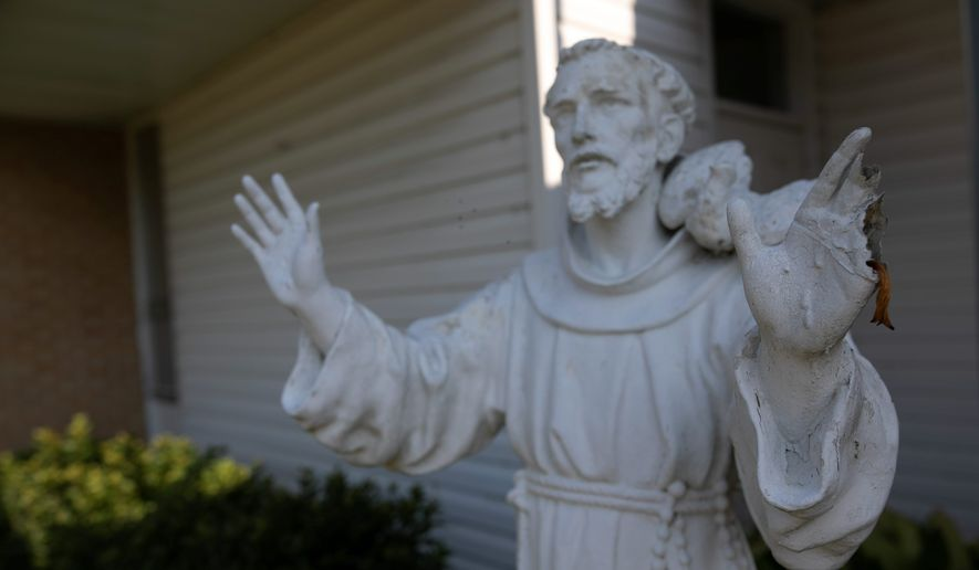 Religious people today are pondering the future of faith in the U.S. and the rising number of Americans who reject formalized faith. Many of the faithful are wondering if it's time for a St. Francis of Assisi-like revival. (Associated Press)