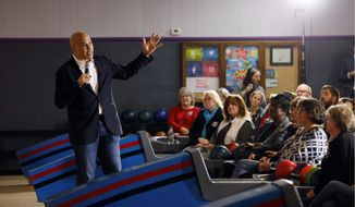 Presidential candidate Sen. Cory A. Booker is blitzing Iowa voters with a positive ad message during a campaign season when Democrats are looking for a fight and electability in a candidate. (Associated Press/File)