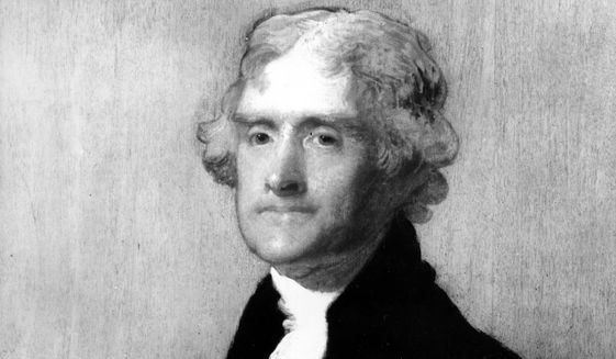 "Thomas Jefferson laid out a vision of ""a wall of separation between church and state"" in a letter to Danbury Baptists. (Associated PRess)"