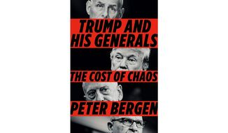 'Trump and His Generals' (book cover)