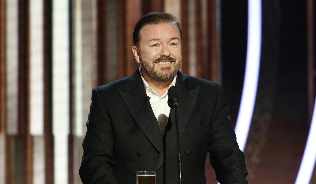 Ricky Gervais roasts Joaquin Phoenix's Oscars speech for lecturing 'everyday, hard-working people'