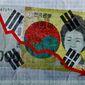 South Korean Corruption Illustration by Greg Groesch/The Washington Times