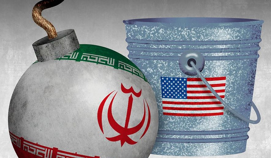 Dousing the Iran Threat Illustration by Greg Groesch/The Washington Times