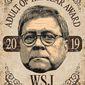 William Barr 2019 Award Illustration by Greg Groesch/The Washington Times
