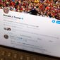 President Trump, a master of using social media for information warfare, set off a firestorm with his tweet threatening to attack cultural sites in Iran. (Associated Press/File)
