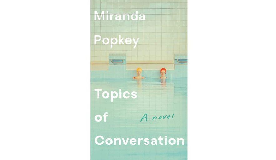 'Topics of Conversation' (book cover)