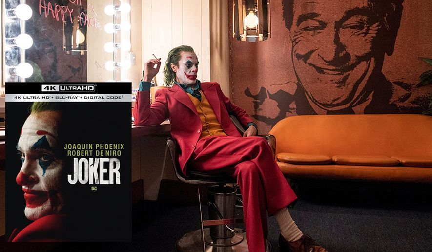 "Joaquin Phoenix stars in ""Joker,"" now available on 4K Ultra HD from Warner Bros. Home Entertainment."