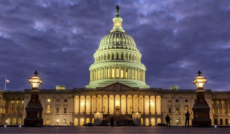 Lawmakers rank way down on the list of America's most respected professions, according to a new Gallup poll. (Associated Press)