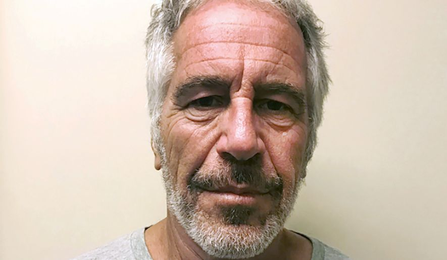 This March 28, 2017, file photo, provided by the New York State Sex Offender Registry, shows Jeffrey Epstein. Federal prosecutors said Thursday Jan. 9, 2020, that jailhouse video no longer exists of the area around Jeffrey Epstein's jail cell on a day he survived an apparent suicide attempt.  (New York State Sex Offender Registry via AP, File)