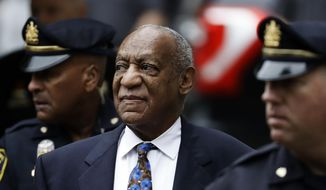 In this Sept. 24, 2018, file photo, Bill Cosby arrives for his sentencing hearing at the Montgomery County Courthouse, in Norristown, Pa. Cosby has appealed a court decision last month that upheld his conviction for drugging and sexually assaulting a woman at his home. He filed his latest appeal Thursday, Jan. 9, 2020, with the Pennsylvania Supreme Court, which does not have to take the case. Cosby is serving a three- to 10-year prison term at a maximum-security state prison in Pennsylvania. (AP Photo/Matt Slocum, File) **FILE**