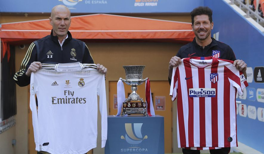 Madrid Plays Atletico In Super Cup Final In Saudi Arabia