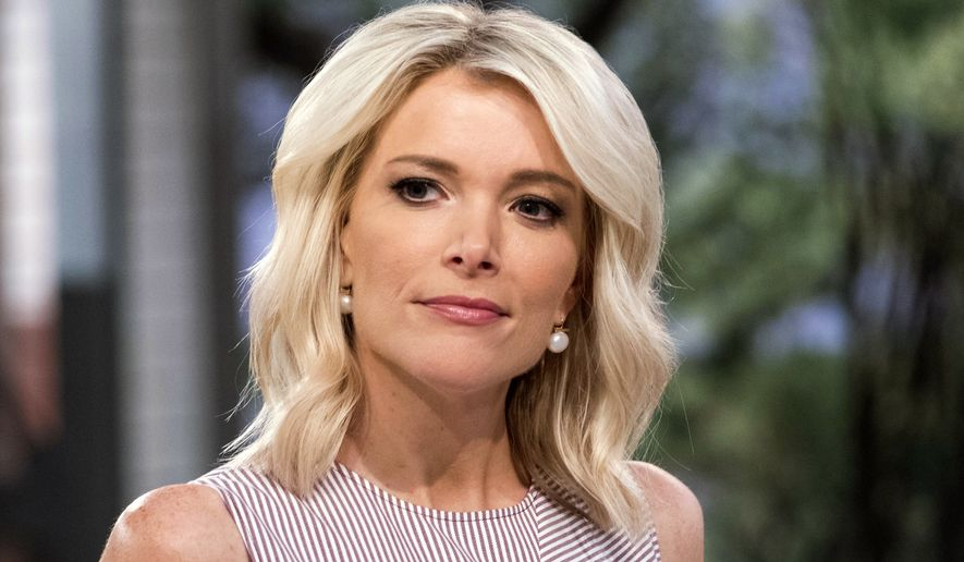 """Megyn Kelly appears on the set of """"Megyn Kelly Today"""" at NBC Studios in New York in 2017. NBC announced on Oct. 26, 2018, that """"Megyn Kelly Today"""" would not return. (Photo by Charles Sykes/Invision/AP) ** FILE **"""