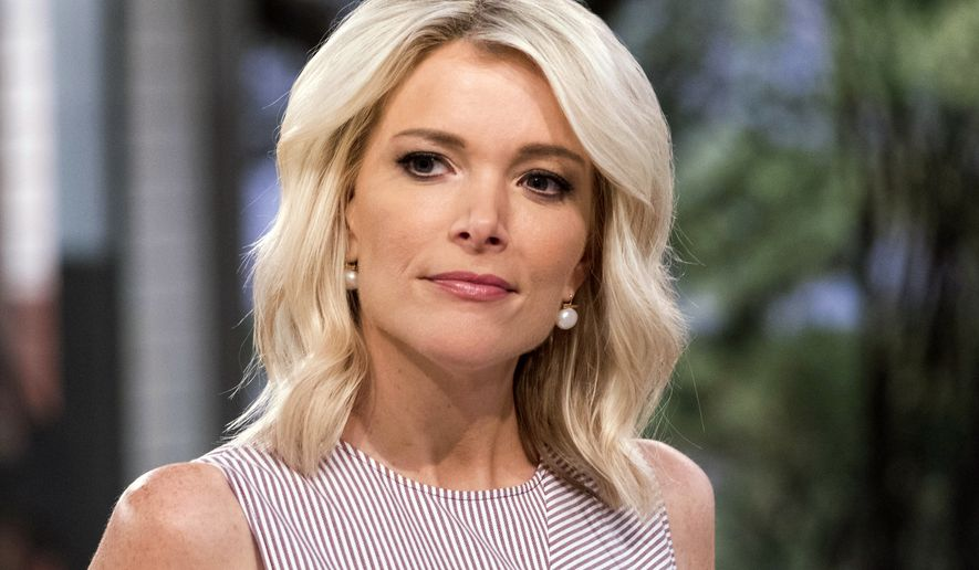 """Megyn Kelly appears on the set of """"Megyn Kelly Today"""" at NBC Studios in New York in 2017. (Photo by Charles Sykes/Invision/AP) ** FILE **"""