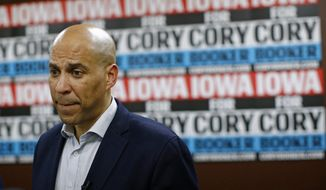 Cory Booker was no match for billionaire Michael Bloomberg. (Associated Press/File)