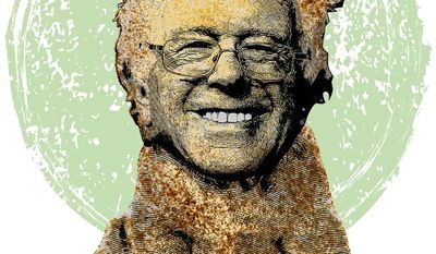 Bernie Sanders Candidate Pet Illustration by Greg Groesch/The Washington Times