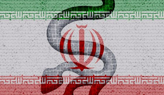 Iran True Colors Illustration by Greg Groesch/The Washington Times