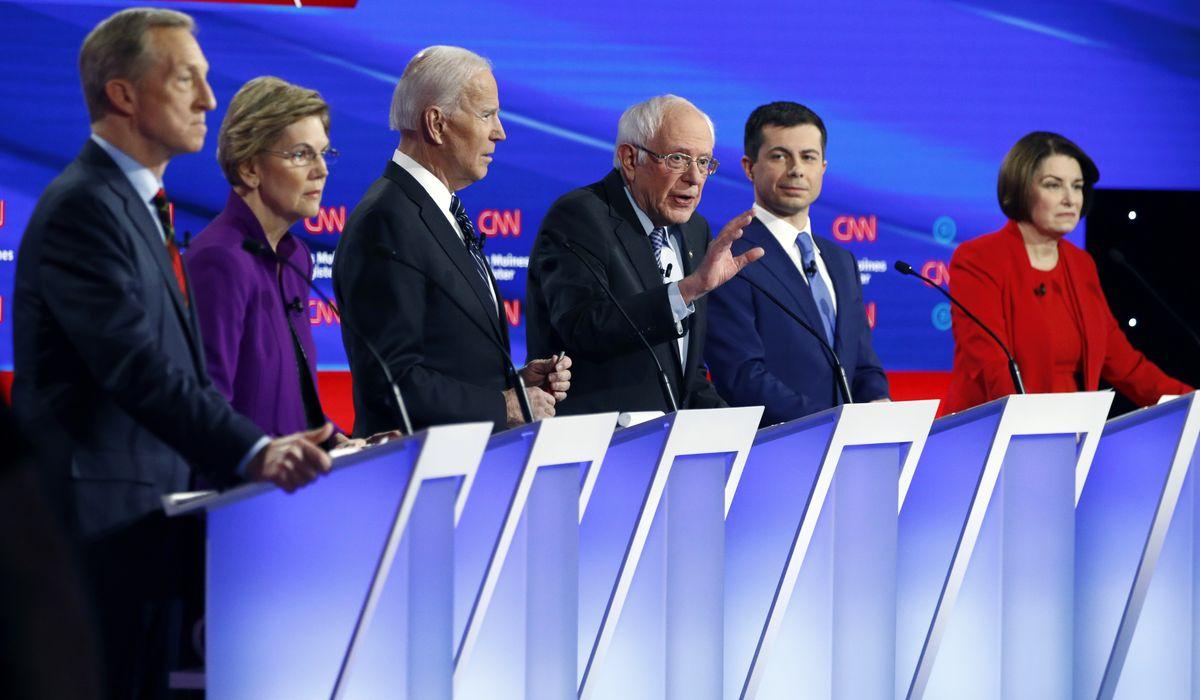 Warren brands male rivals losers as Sanders spat spills into debate