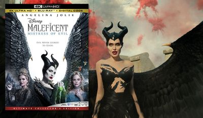 """Angelina Jolie stars in """"Maleficent: Mistress of Evil,"""" now available on 4K Ultra HD from Walt Disney Studios Home Entertainment."""