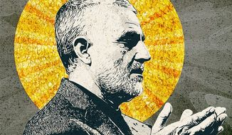 Soleimani Illustration by Greg Groesch/The Washington Times