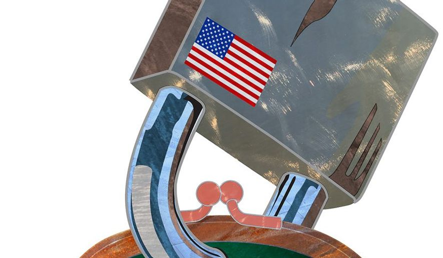 Iran Sanctions Illustration by Greg Groesch/The Washington Times