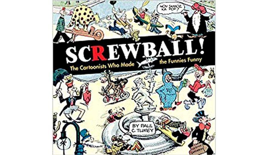 'Screwball!' (book cover)